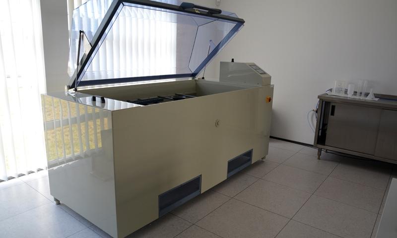 Komora umożliwia 100 – krotne przyspieszenie procesów korozyjnych.