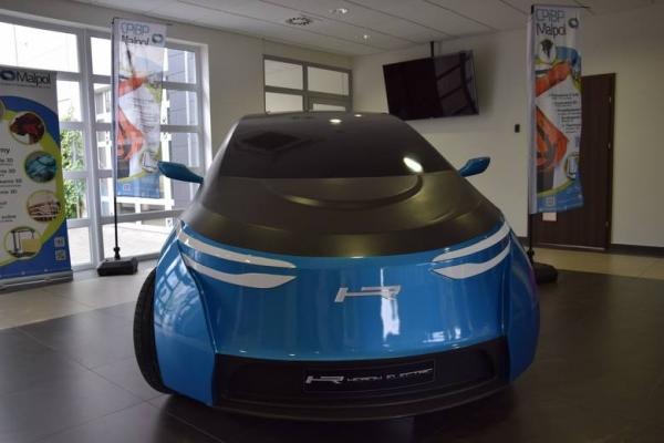 HERON ELECTRIC - prototyp pierwszego polskiego auta elektrycznego - modern look -  new design