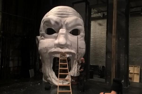 Dekoracja sceny teatralnej - Teatr Polski - Poznań 2017